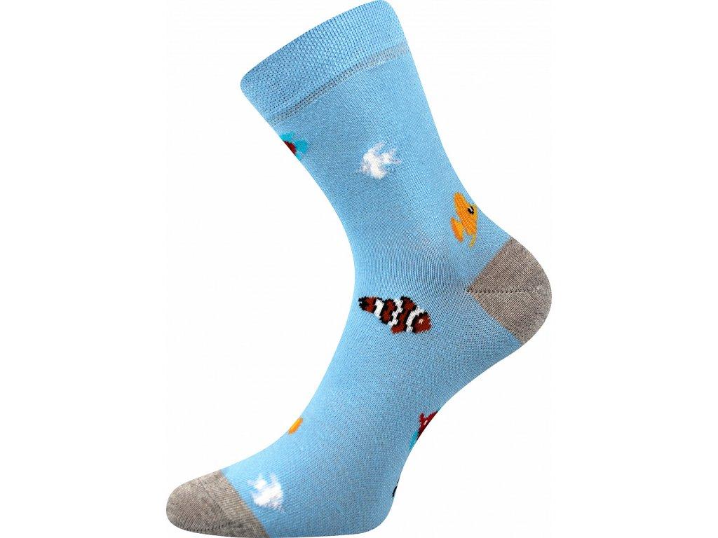 ponozky rybicky vesele obrazkove vtipne superfit store