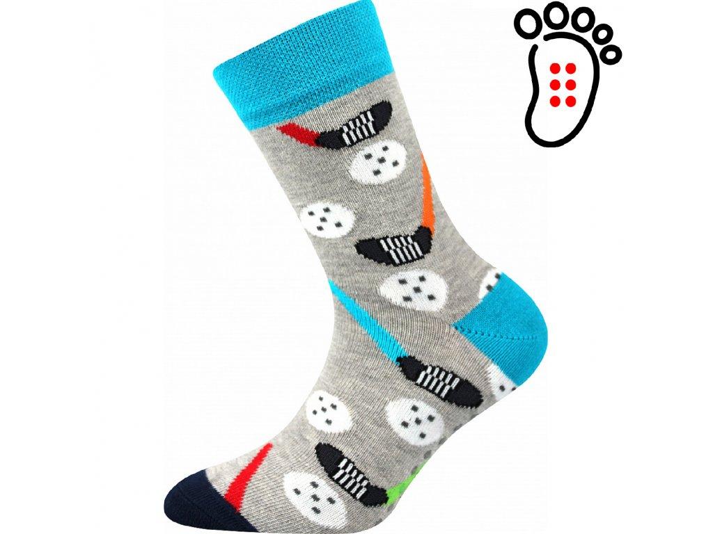 ponozky florbal filip02 abs vesele obrazkove vtipne superfit store