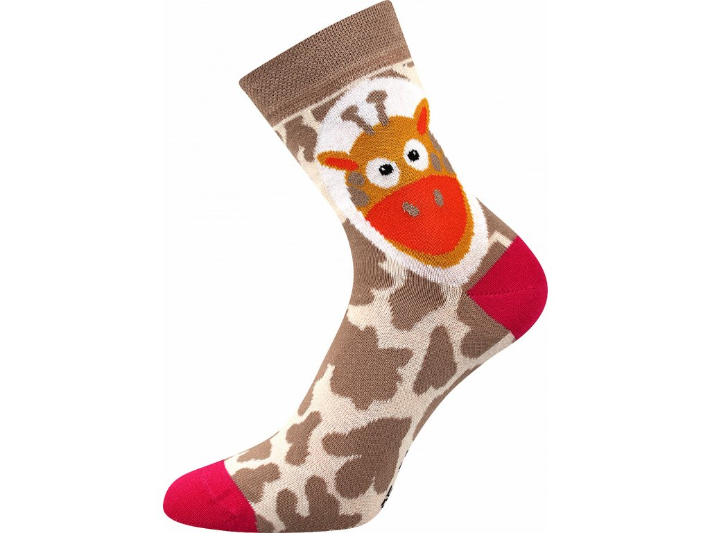 ponozky xantipa 62 zirafa vesele obrazkove vtipne superfit store