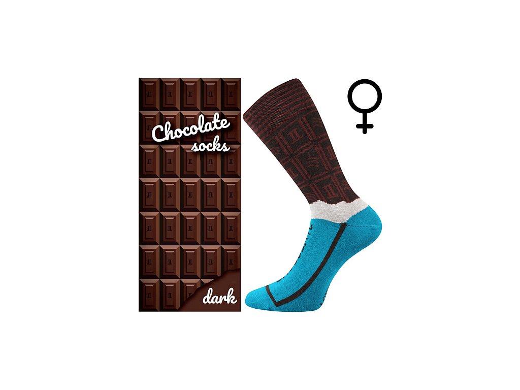 ponozky chocolate hneda cokolada darkove baleni 2 superfit store (1)
