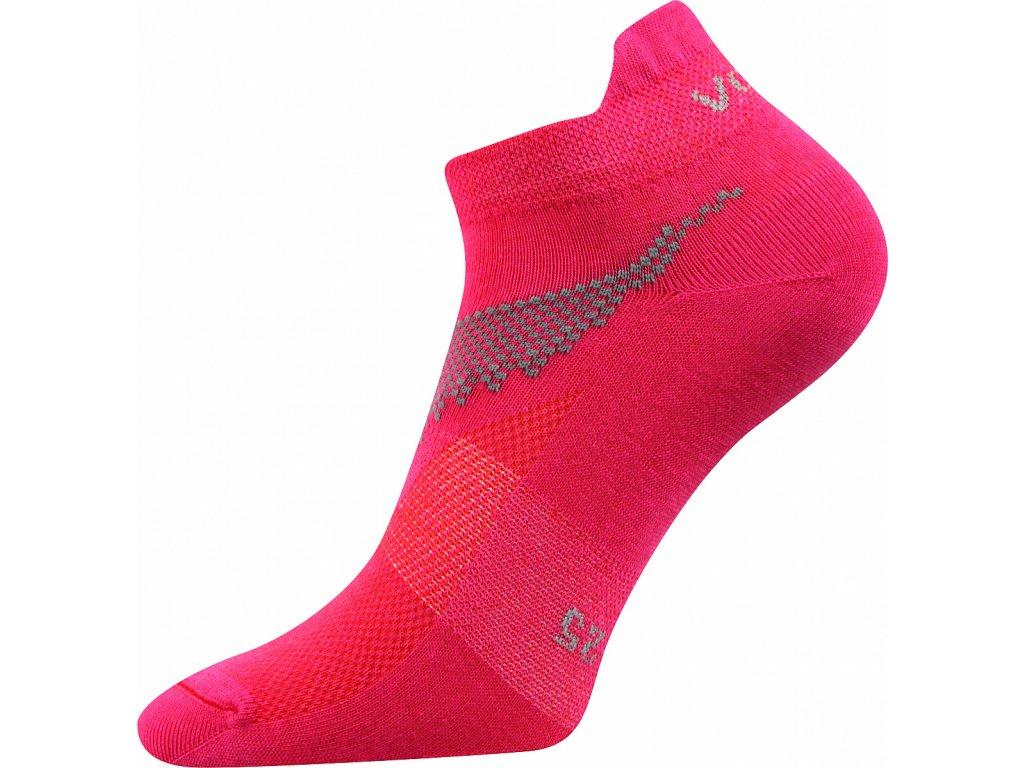 Ponožky kotníkové Iris růžová A - (Barvy Růžová A, Velikosti ponožek 26-28 (39-42))