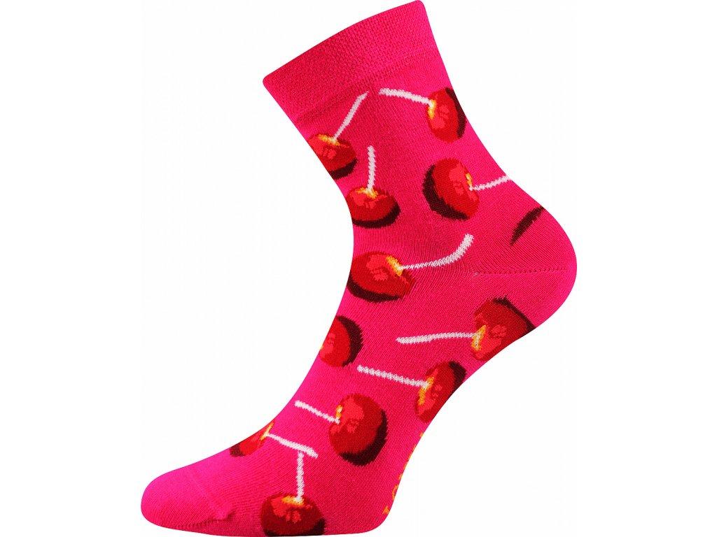 ponozky dedot lizatka magenta vesele obrazkove vtipne superfit store