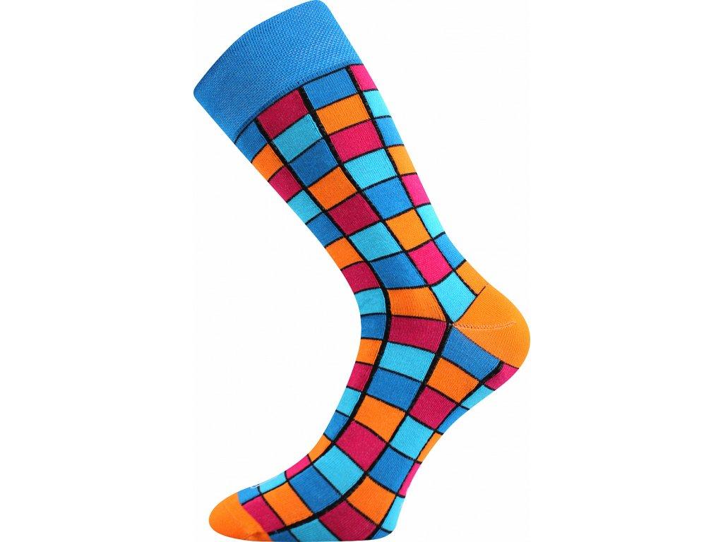 ponozky wearel021 kostky modra a vesele obrazkove vtipne superfit store