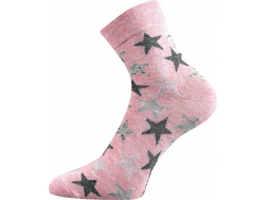 ponozky ivanka hvezdy ruzova a vesele obrazkove vtipne superfit store