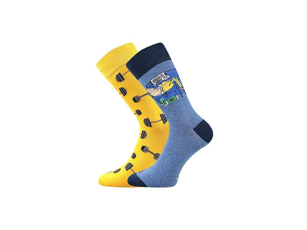 ponozky doble cinky gauc modra d vesele obrazkove vtipne superfit store