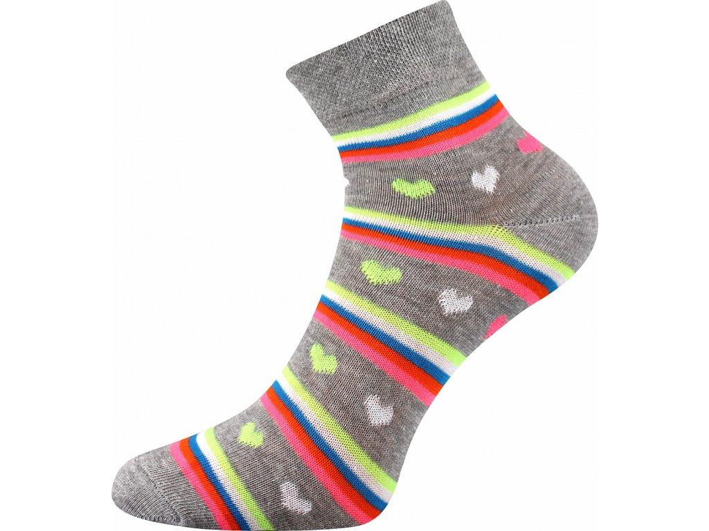 ponozky srdicka jana 52 seda a vesele obrazkove vtipne superfit store