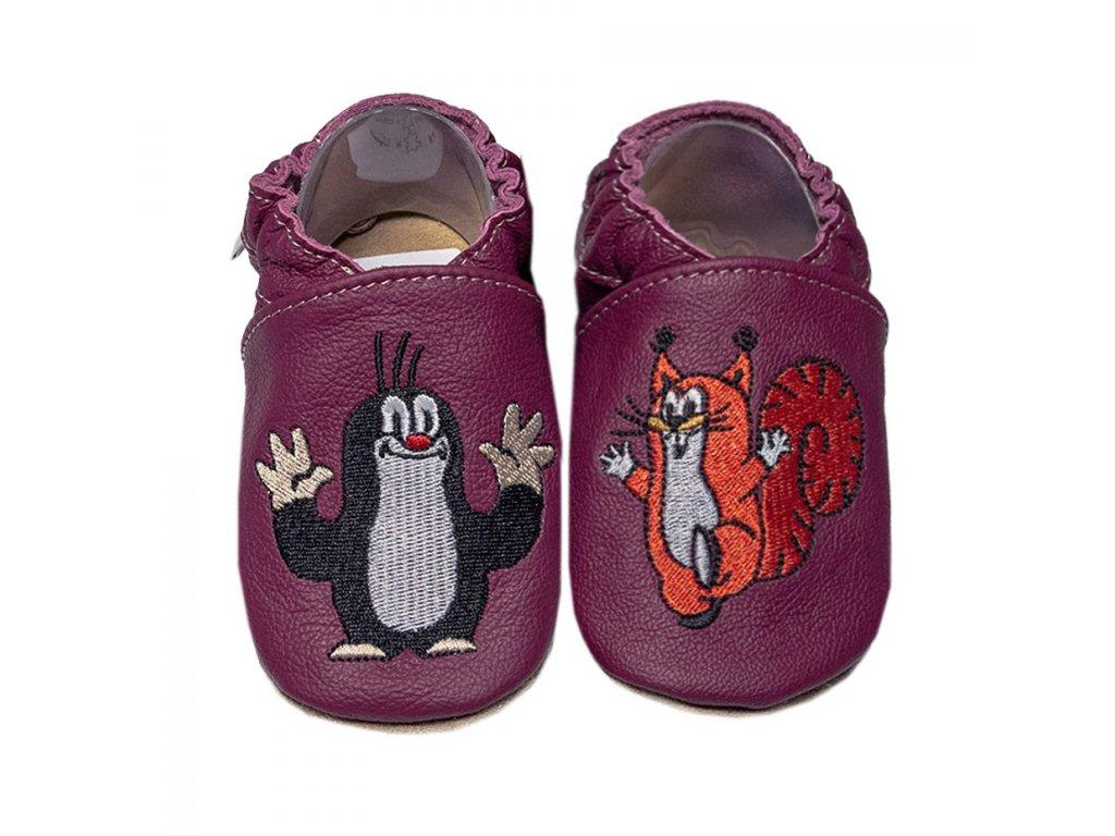 capacky kozene barefoot babice em 030 krtecek superfit store