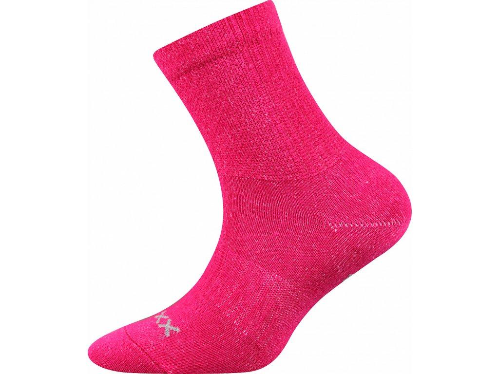 ponozky regularik ruzova b superfit store