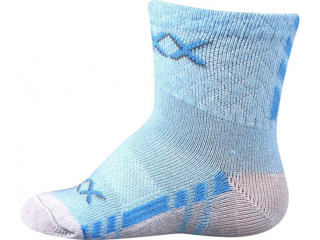 ponozky kojenecke piusinek modra a superfit store