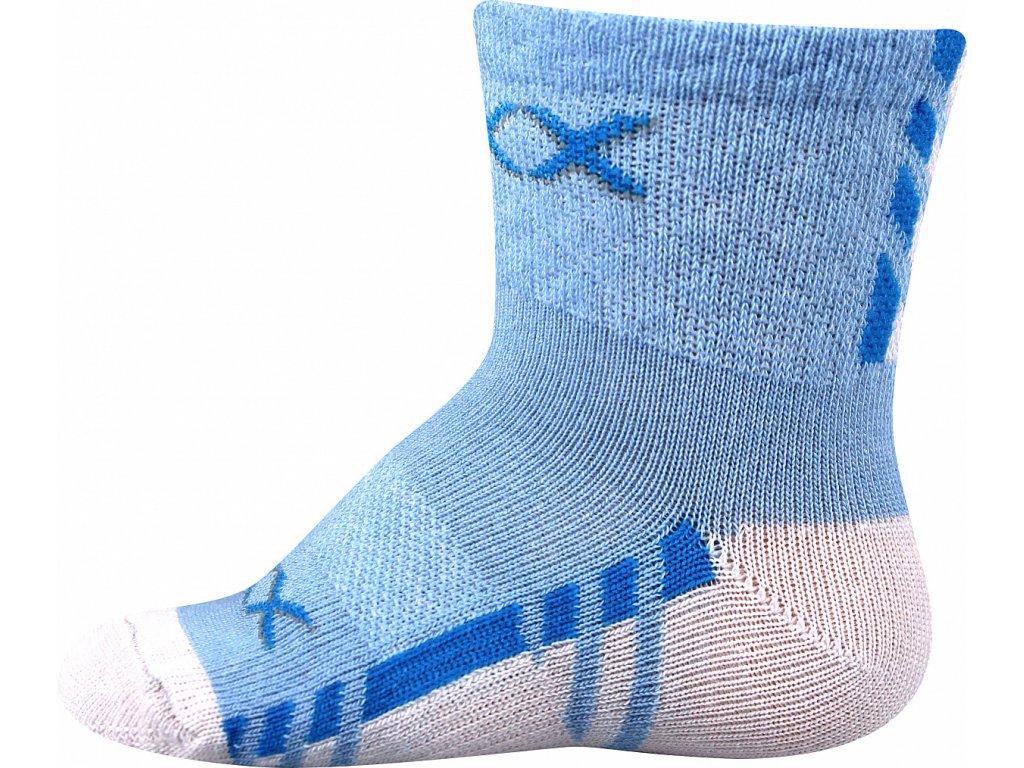 ponozky kojenecke piusinek modra b superfit store