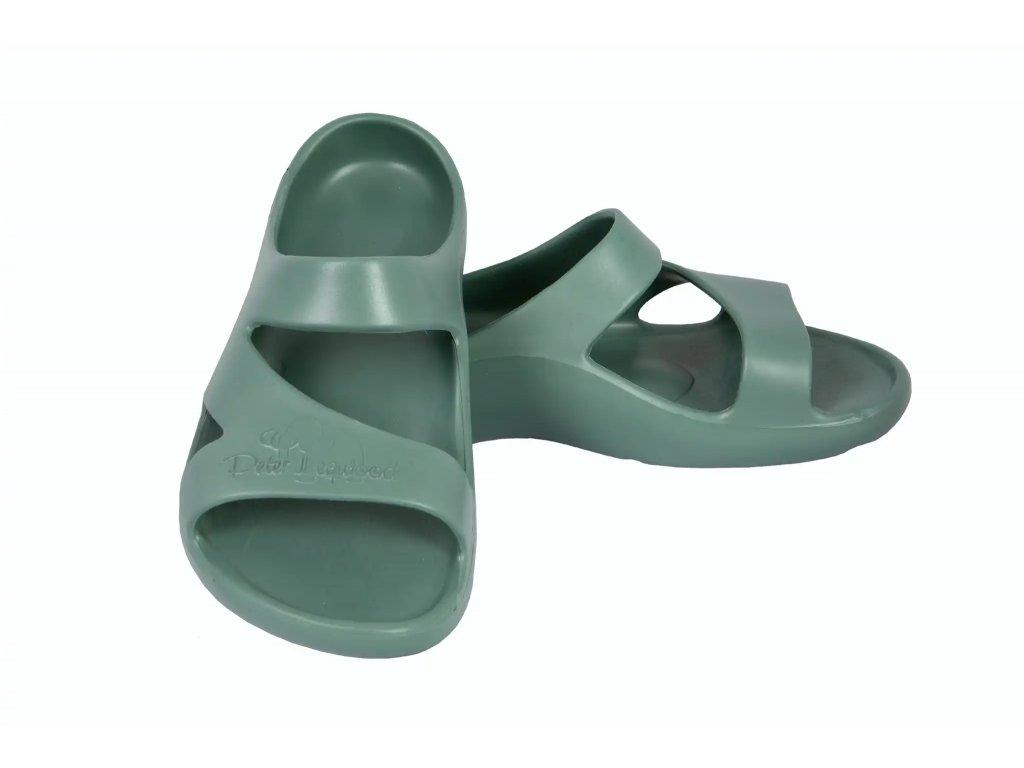 peter legwood pantofle dolphin oliva khaki zelena supershoes cz (3)