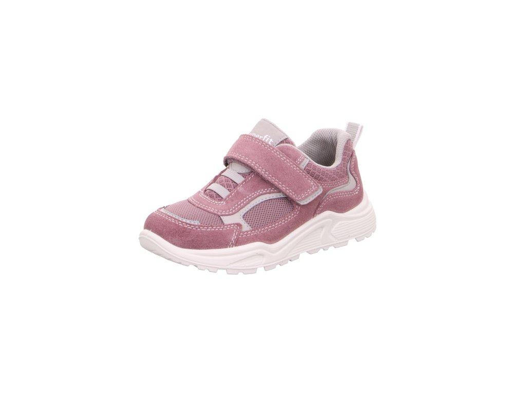 Dětské dívčí celoroční boty tenisky Superfit 0-609319-9000 (Velikosti 31)