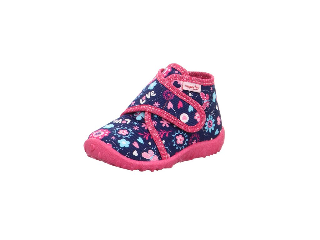 detske divci domaci kotnikove papuce superfit 0 609255 8000