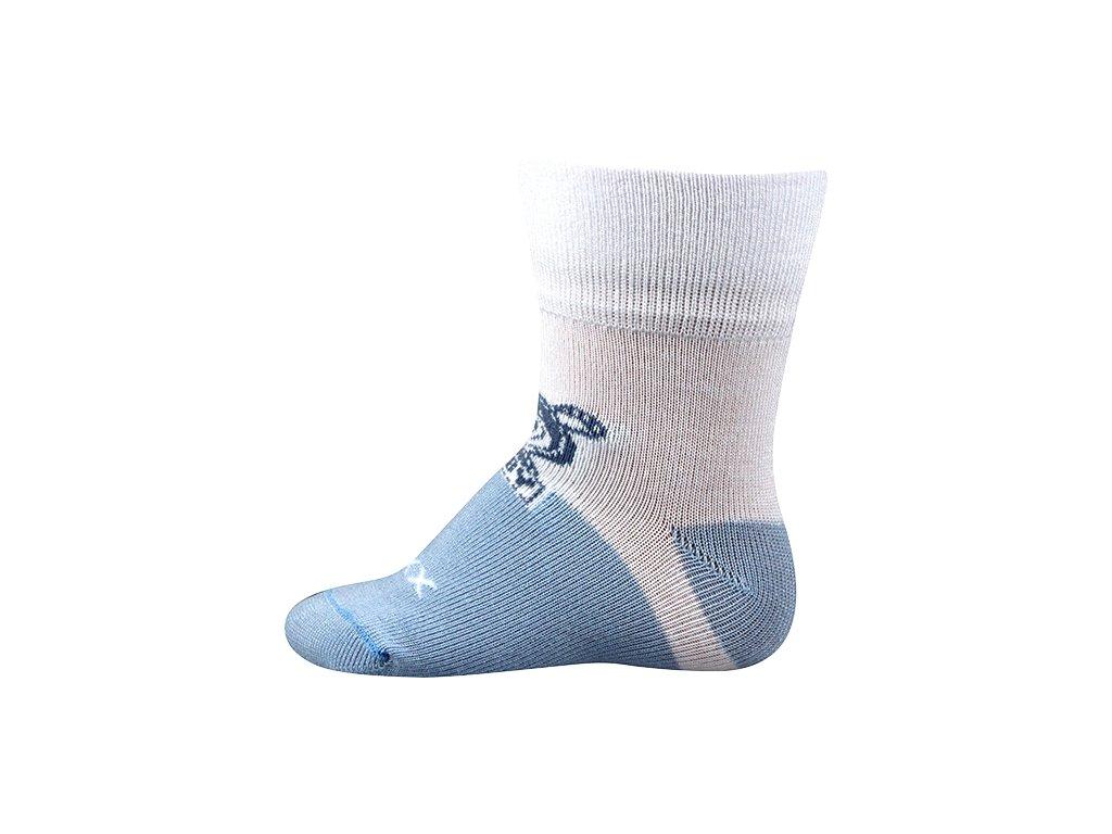 Ponožky kojenecké Multifunkční SEBÍK chlapecké (Velikosti ponožky 9-11 (14-16), Barvy ponožek Modrá A)