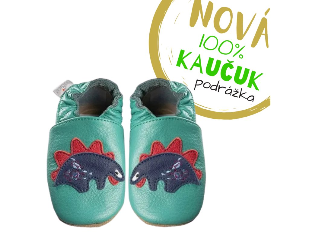 capacky kozene barefoot babice ba 221 kaucuk stegosaurus