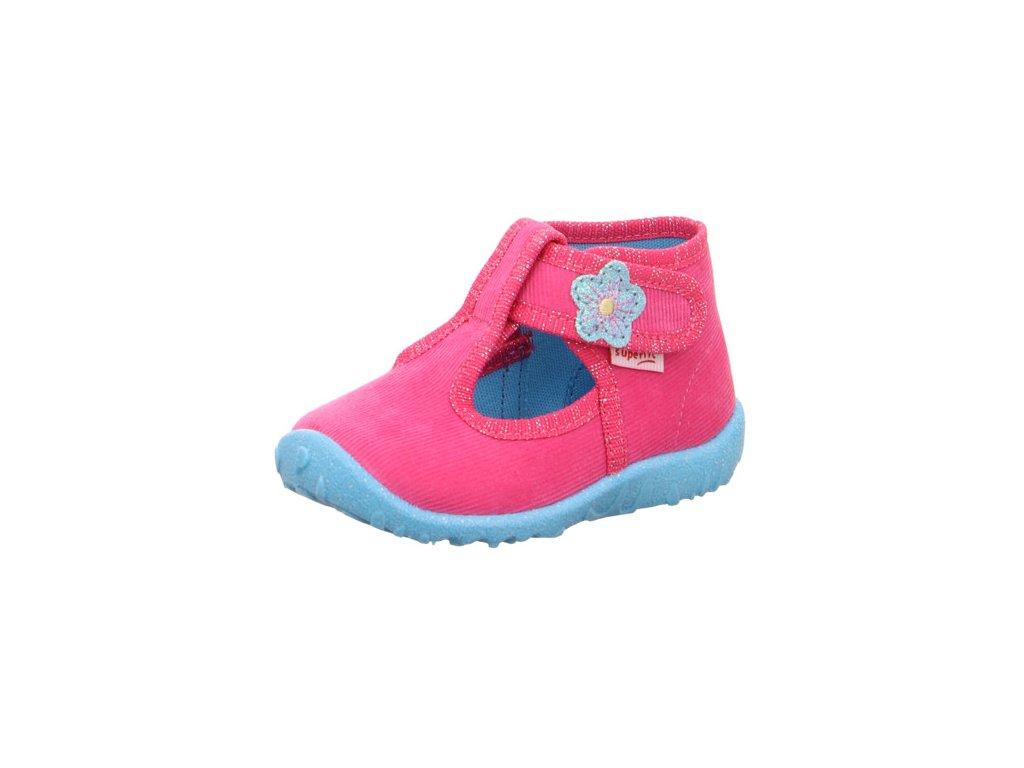 Superfit SPOTTY 1-009252-5500 papuče bačkory kotníkové - (Velikost EU 26)