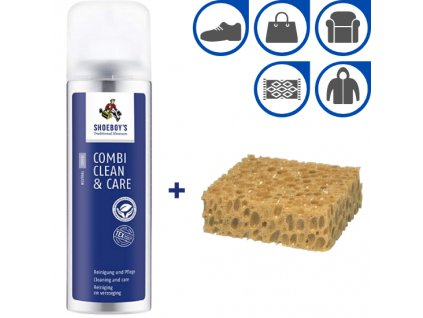 sada cistici pena combi clean care s vyzivou 200 ml houbicka na cisteni superfit store (2)