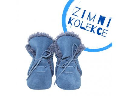 capacky kozene barefoot babice zimni nbw 103 modra superfit store (3)