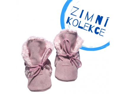 capacky kozene barefoot babice zimni nbw 106 ruzova superfit store (3)