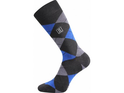 ponozky dikarus karo modra b vesele obrazkove vtipne superfit store