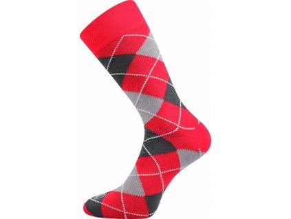 ponozky wearel017 karo cervena a vesele obrazkove vtipne superfit store
