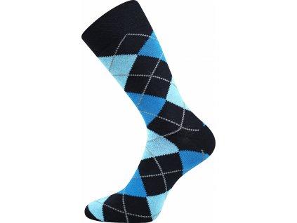 ponozky wearel017 karo modra a vesele obrazkove vtipne superfit store