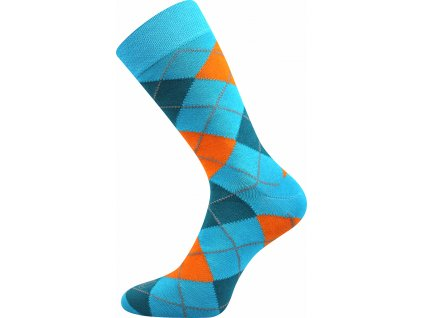 ponozky wearel017 karo tyrkys vesele obrazkove vtipne superfit store