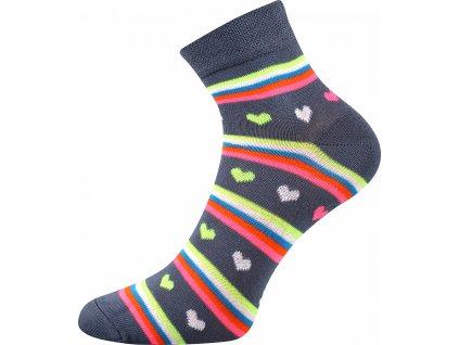 ponozky srdicka jana 52 seda b vesele obrazkove vtipne superfit store