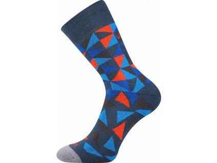 ponozky matrix modra a vesele obrazkove vtipne superfit store