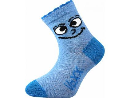 ponozky kojenecke kukik modra b superfit store