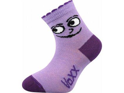 ponozky kojenecke kukik fialova superfit store