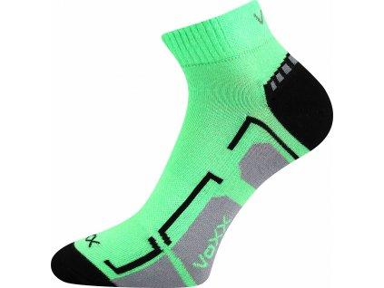 ponozky kotnikove flashik neon zelena superfit store