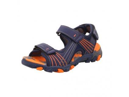 Dětské chlapecké sportovní letní sandály Superfit 4-00100-80 (Velikosti 42)