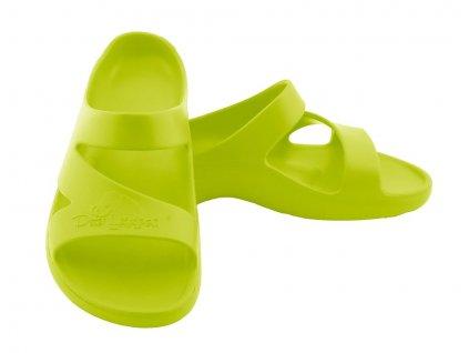 peter legwood pantofle dolphin verde acido svitive zelena (4)