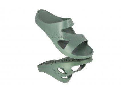 peter legwood pantofle kong verde militare vojenska zelena obouvame online (1)
