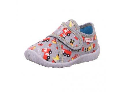 detske chlapecke domaci kotnikove papuce superfit spotty 1 009246 2000