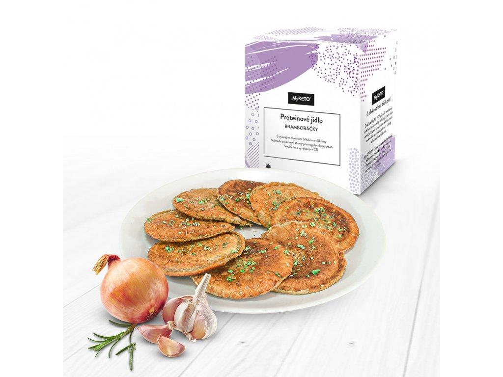 MyKETO Proteínové jedlo ZEMIAKOVÉ placky 5 porcií