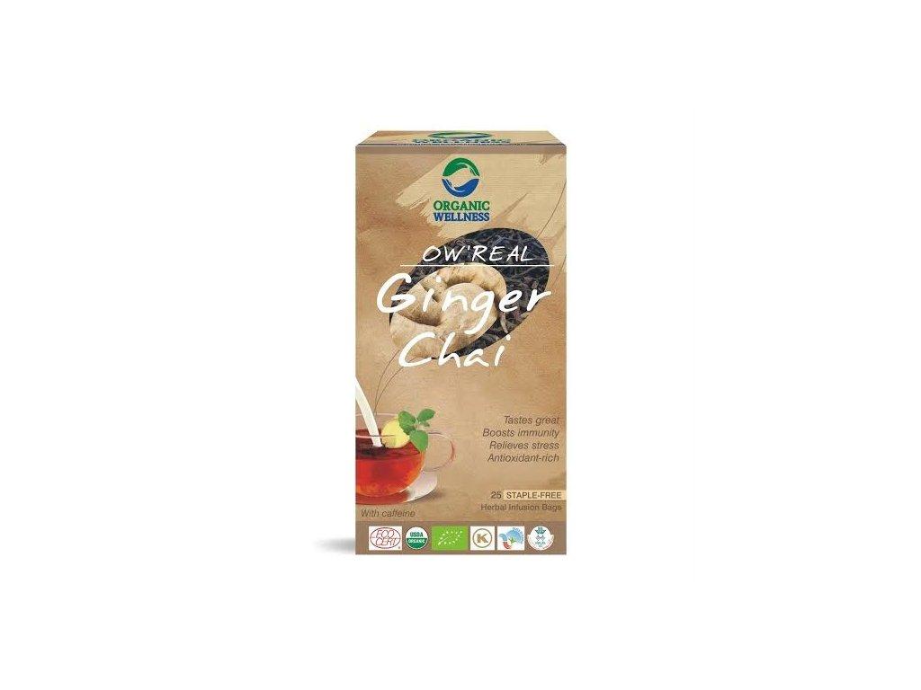 Organic Welness Ginger Chai 25ks