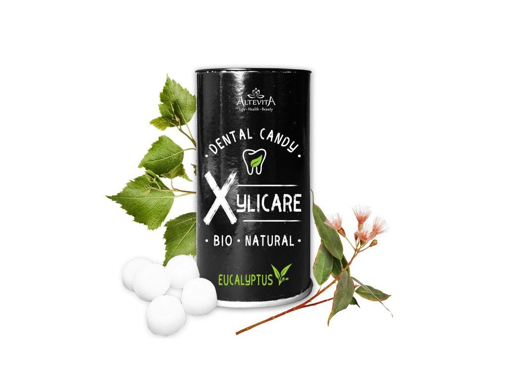 2 + 1 zadarmo Altevita BIO XYLICARE Eucalyptus 25ks