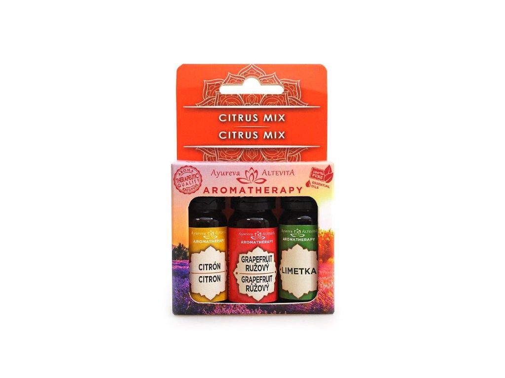 altevita set olejov citrus mix