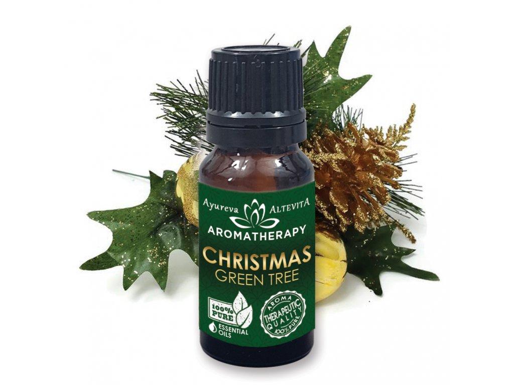 Altevita zmes esenciálnych olejov CHRISTMAS - Green Tree  (zelené vianoce) 10ml