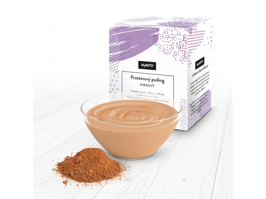 MyKETO proteínový puding kakaový 1 porcia 40g