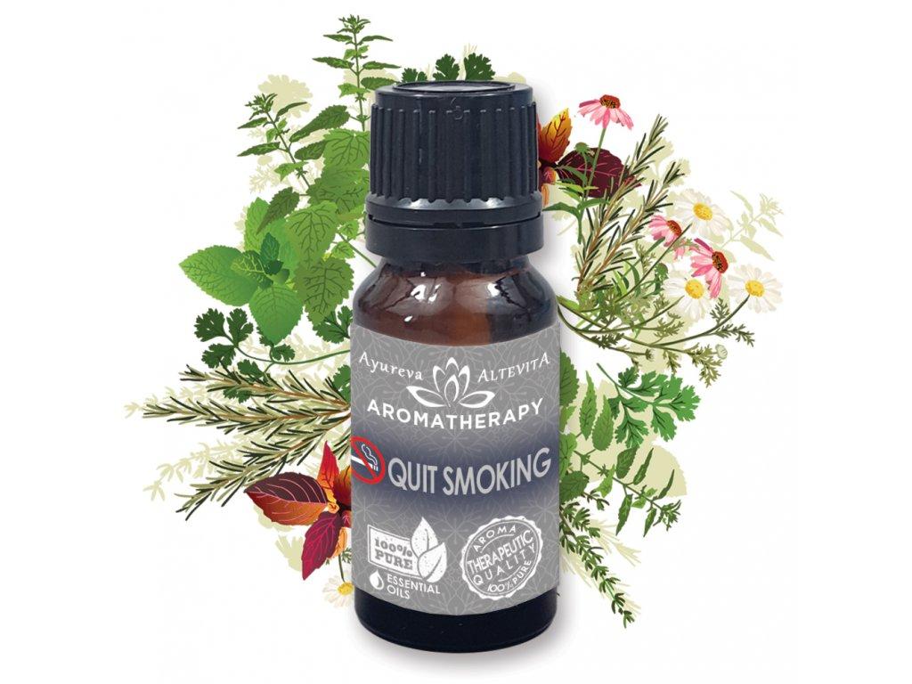Altevita zmes esenciálnych olejov QUIT SMOKING (končím s fajčením) 10ml