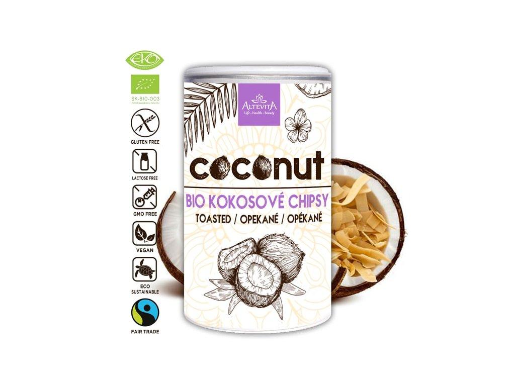 Altevita BIO kokosové chipsy 100g
