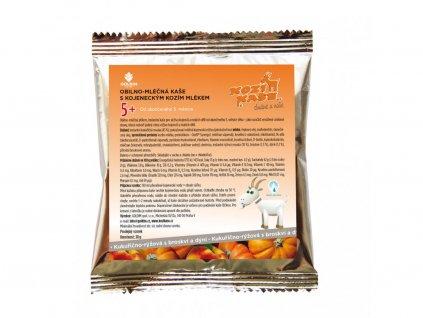 Goldim Kaša z kozieho mlieka kukurično ryžová Broskyňa / tekvica 30g