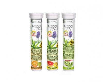 KOMPAVA AcidoFit grep-citrón 16 tabliet