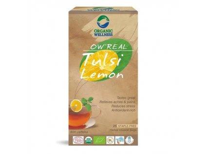 ORGANIC WELNESS BIO TULSI citrónová tráva 25ks