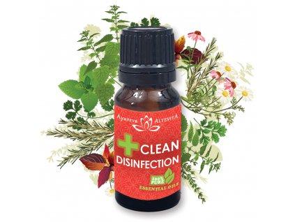 Altevita zmes esencialnych olejov CLEAN DISINFECTION 10ml