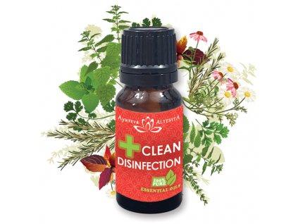 2 + 1 zadarmo Altevita zmes esenciálnych olejov CLEAN DISINFECTION 10ml