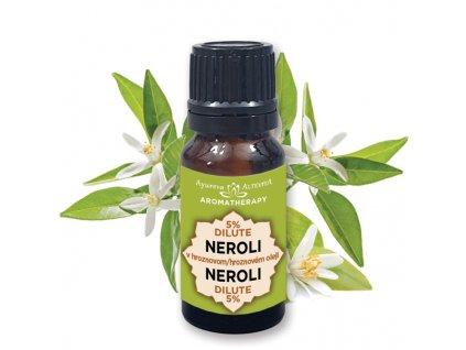 Altevita 5% dilute NEROLI (pomarančový kvet) 10ml - Olej jemnosti a stabilizácie
